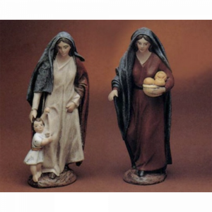 Shepherdess with Child/ Shepherdess with Bread